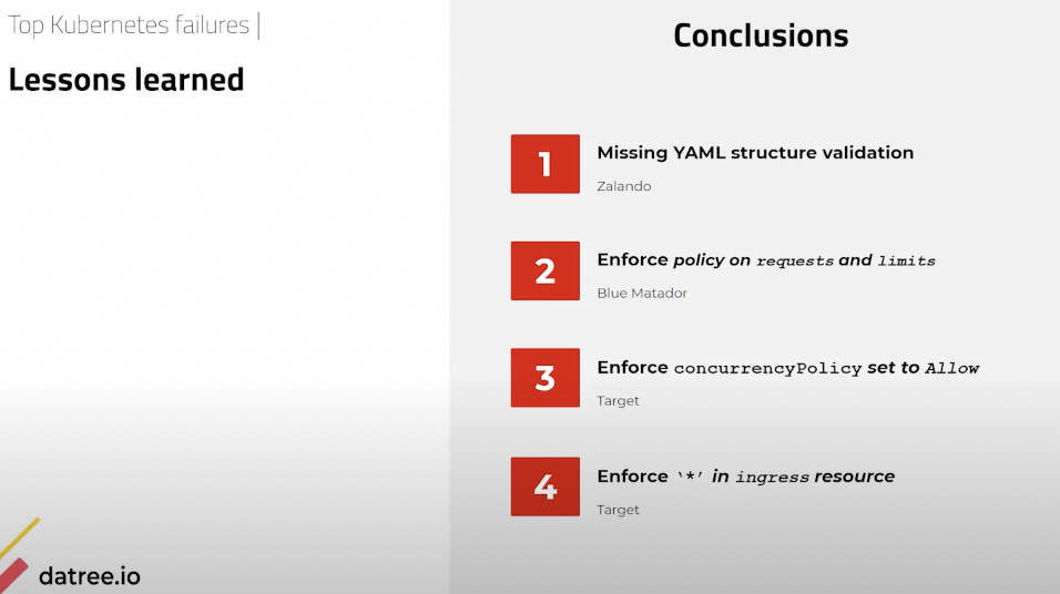 komodor-datree-webinar-preventing-kubernetes-misconfigurations-top-k8s-failures-conclusions