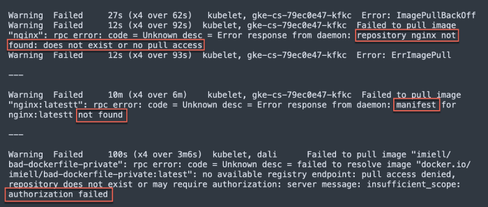authorization-failed-imagepullbackoff